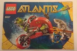 2010 LEGO Atlantic Wreck Raider (8057) INSTRUCTION MANUAL ONLY - $8.00