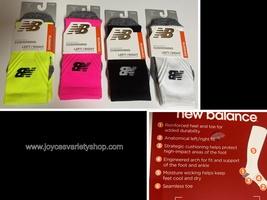 New Balance Running Socks Cushioning Adult Sz S Two Pair Same Color Variety - $11.99