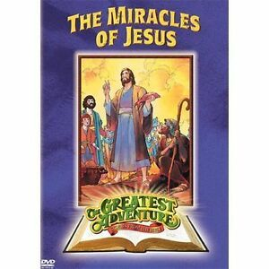 The Greatest Adventures of the Bible: Miracles of Jesus (DVD, 2006)