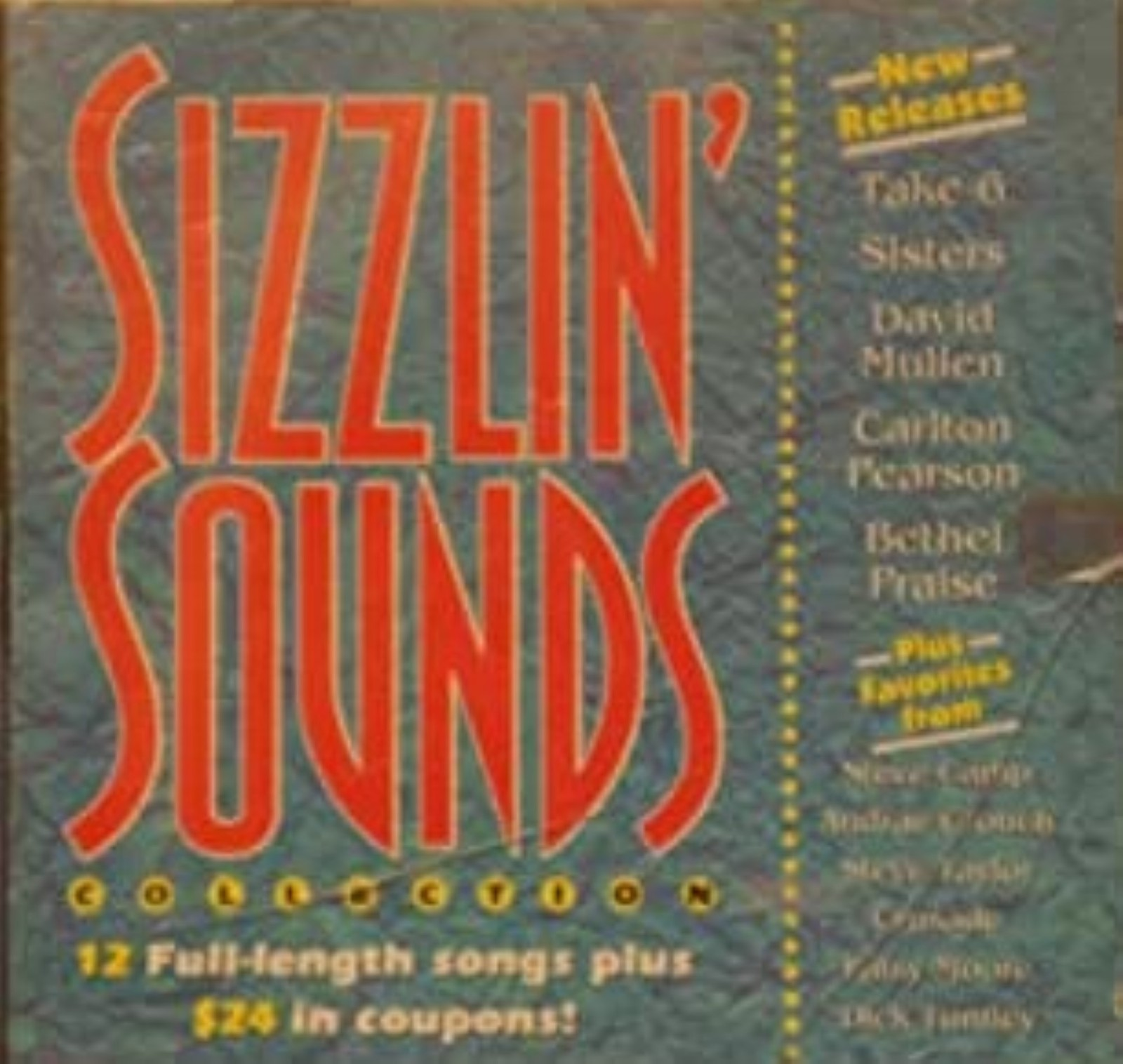 Sizzlin Sounds Collection cd
