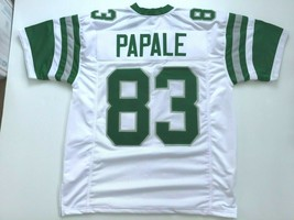 UNSIGNED CUSTOM Sewn Stitched Vince Papale White Jersey - M, L, XL, 2XL - $33.99
