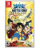 Limited Run Battle Chef Brigade Nintendo Switch Alternate Cover USA Regi... - $79.99