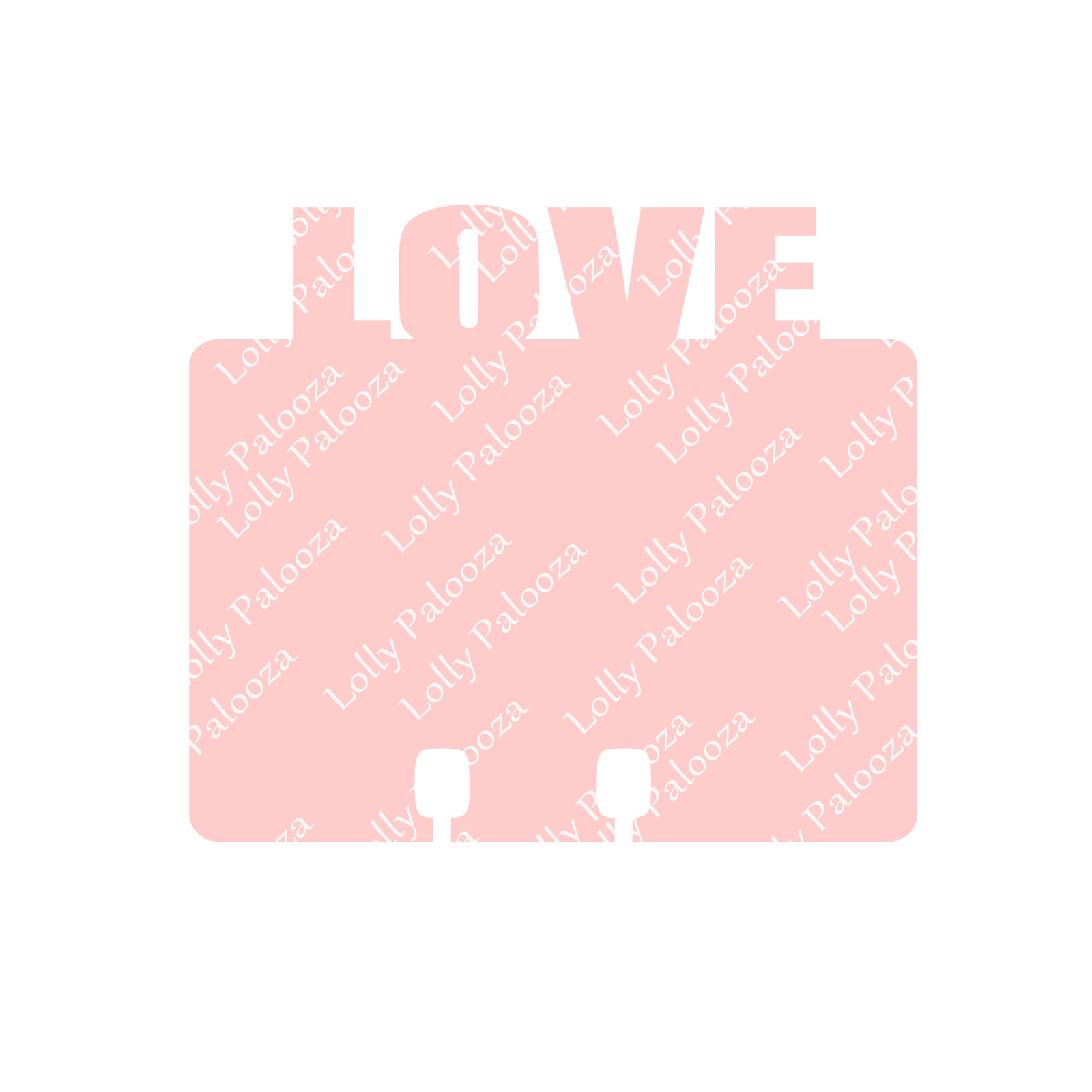 Love and Cute Word Topped Dex Cards DIGITAL File.  Instant Download.  SVG Files.