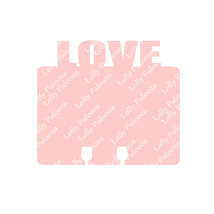 Love and Cute Word Topped Dex Cards DIGITAL File.  Instant Download.  SVG Files. image 1