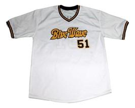 Ichiro Suzuki Orix Blue Wave Baseball Jersey White Any Size - $39.99