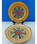 "2pc Japanese Mitsu Boshi 9.3/4"" Handled Cake Plate and Plate - $24.01"