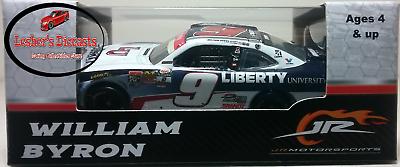 William Byron 2017 #9 Liberty Homestead Xfinity Series Champ Raced Version 1:64