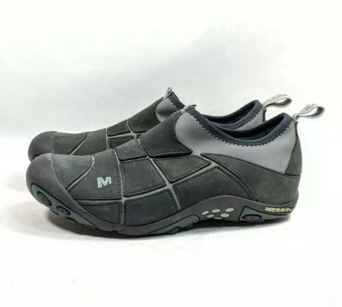 Merrell Mosaic Black Leather Slip On Trail Hiking Shoes Womens Sz 6/36 (tu33ep)  image 3
