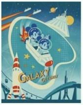 Disney Wonderground Gallery Galaxy Getaway Art Postcard, NEW - $13.95