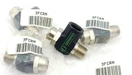 LOT OF 4 NEW NUMATICS 3FCRN RIGHT ANGLE FLOW CONTROLS 3/8 INCH NPT 175 PSI