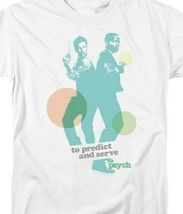 To Predict & Serve t-shirt Psych TV series Shawn & Gus graphic tee NBC592 image 3