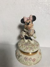 Lenox Disney Blooms For Minnie Trinket Box - $49.85