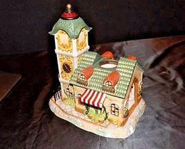 Old World Village #4The Clocktower AA18-1373 Vintage image 9