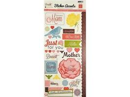"""Echo Park """"Dearest"""" Sticker Accent Pieces #SW1801"""
