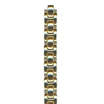 Seiko Stainless Steel Gold Tone Metal Watch Band 32Q6YZ Caseback # 1N01-... - $63.00