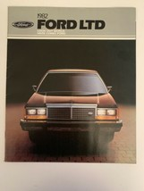 1982 Ford LTD Car Brochure Options Data Crown Victoria Country Squire Wagon - $4.94