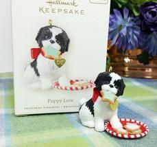 Hallmark Puppy love ornament 2008 - $27.95