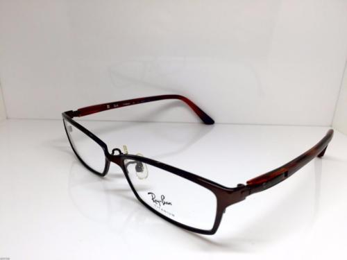 601ce6f6afc Ray Ban Titanium Brown Two Tone Eyeglasses and 50 similar items. 12