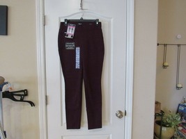 Nine West Heidi Pull On  Yoga Stretch Pant Winetasting Women's Sz 4NWT P... - $28.71