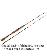 Casting Rod Power M 1.8M-2.1M Lure Weight 10-25g Line Weight 8-16LB Fish... - $51.20