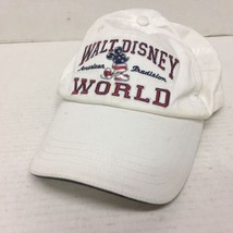 Walt Disney World White Baseball Cap - American Tradition 1971 (mickey m... - $17.75