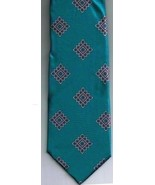 Oscar de la Renta Necktie 100% Silk Bright Blues Brand New Vintage - $14.21