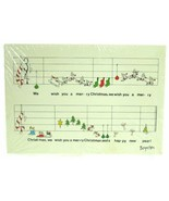 Vintage Recycled Paper Products Sandra Boynton Merry Christmas Music Pos... - $24.99