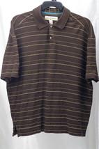 Tommy Bahama Polo Shirt Size L 70% Silk 30% Cotton - $22.99