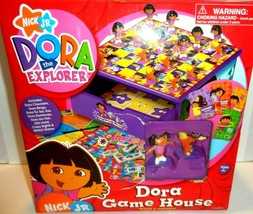 Dora The Explorer Game House Cardinal Games 8 games in 1 Case New in tor... - $24.18
