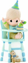 Precious Moments Baby Boy in Highchair Hip Hip Hooray You're One Year Ol... - $79.19