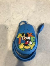 Disney Mickey Mouse Computer Mouse Model 2238 Good Condition A5 - $13.95