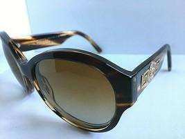 Polarized Elegant Versace Tortoise Women's Sunglasses Italy - $89.99