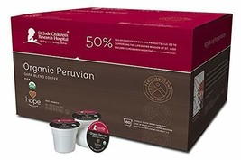 Hope Products Coffee, ORGANIC PERUVIAN, 80 Count-Single Serve Cups,K-Cup... - $30.33