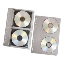 CD/DVD Protector Sheets for Three-Ring Binder, Clear, 10/Pack - $51.99 CAD