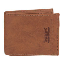 Levi's Men's RFID Extra Capacity Traveler Credit Card ID Bifold Tan Wallet (Tan) image 3