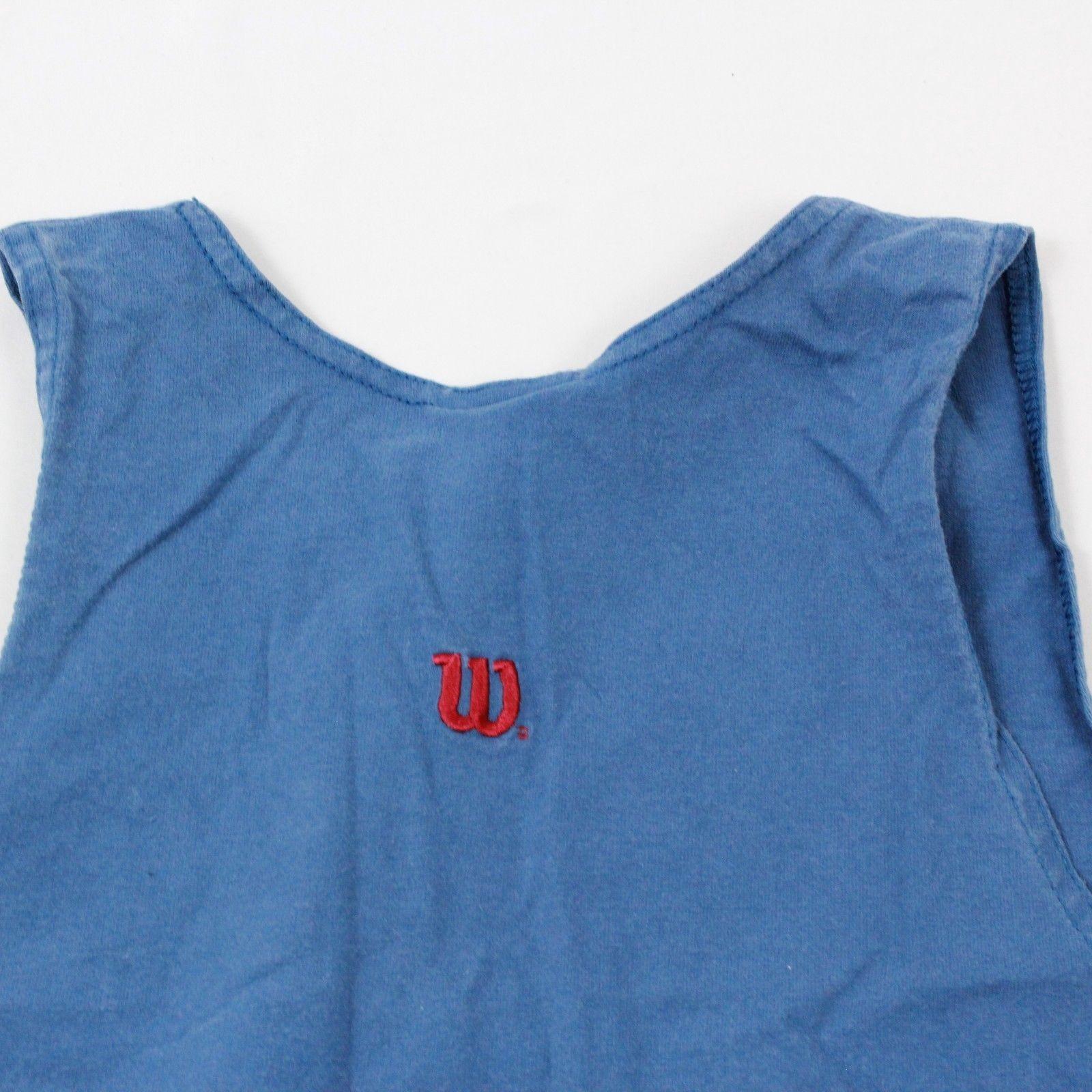24.4ms Wilson Débardeur pour Hommes Taille M Logo Vieilli Athlétique Vêtement