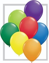 Qualatex Carnival Assortment Biodegradable Latex Balloons, 5-Inch Round - $14.43