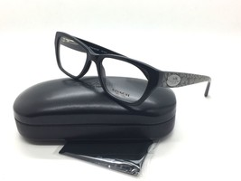 Coach Women Black Square Eyeglasses HC 6070 5346 Whip Snake Frog 51 - $79.97