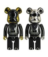 DAFT PUNK 200% Metal BE@RBRICK (Random Access Memories Ver.) 2PACK - $300.00