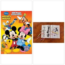 Disney Coloring Book Mickey Minnie Mouse 400 Pages For Kids Toddler Pres... - $11.84