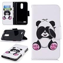 XYX Wallet Phone Case for LG K8 Plus,[Kickstand][Wrist Strap][Card Slots... - $9.88