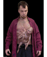 Realistic MUTANT FREAK FETUS CHEST PIECE Horror Halloween Costume Access... - $89.07
