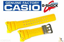 CASIO G-SHOCK Gulfmaster GWN-1000-9A Yellow Rubber Watch Band Strap GWN-1000H-9A - $99.95