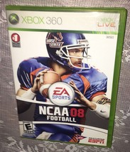 NCAA Football 08 (Microsoft Xbox 360, 2007) =FAST FREE SHIPPING= - $5.63
