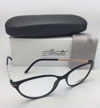 New SILHOUETTE Eyeglasses SPX 1578 75 9020 56-16 135 Black & Bronze Frames image 10