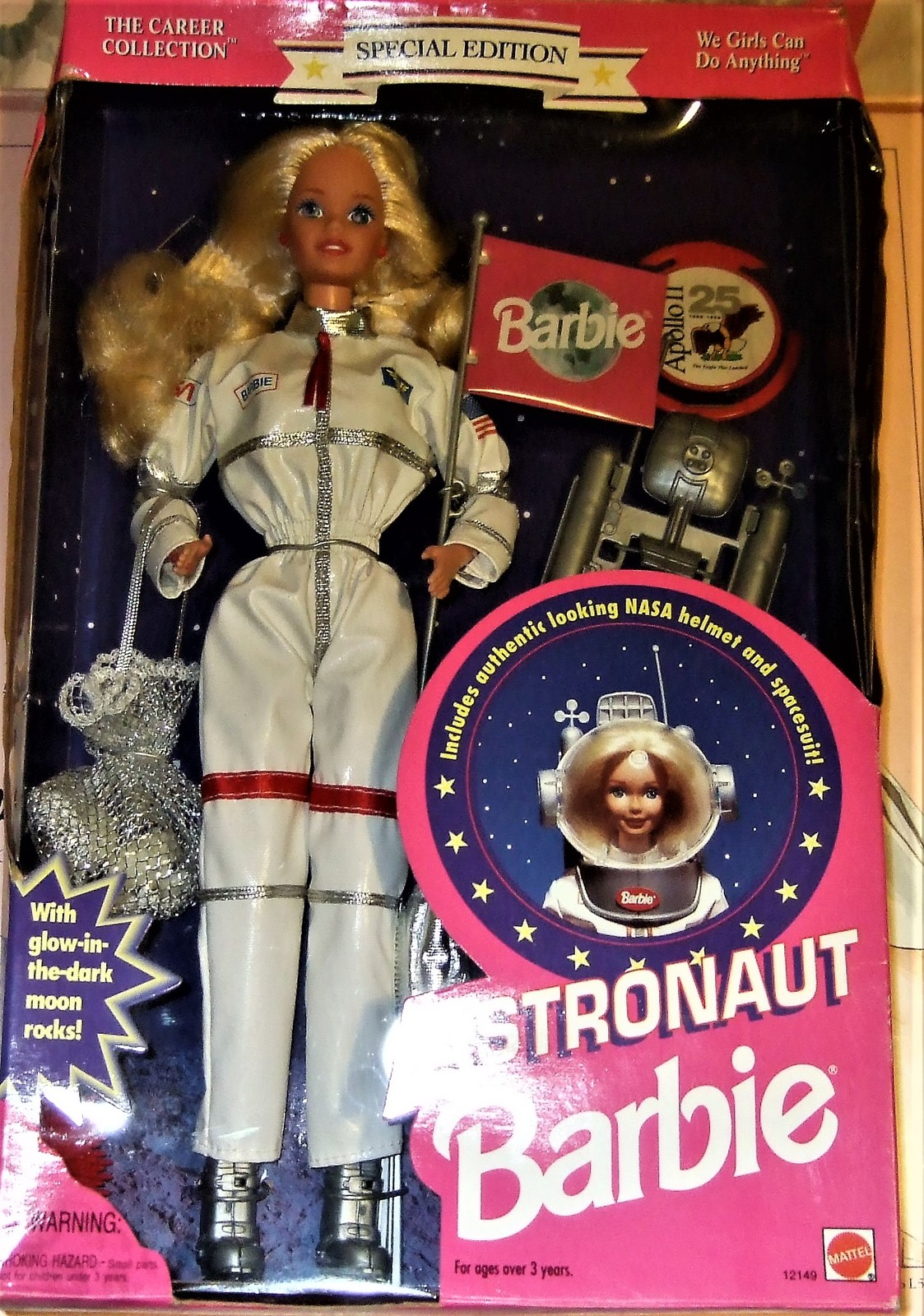 Barbie Doll - Astronaut Barbie, Career Collection, Special Edition, 1994