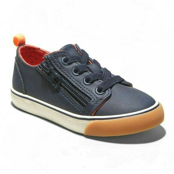 Cat & Jack Toddler Boys Kids Navy Luka Sneaker Shoes NWT