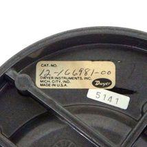 DWYER 12-166981-00 MAGNEHELIC PRESSURE GAUGE 15 PSIG MAX, 0-140, 1216698100 image 4