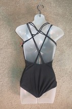 Capezio Black Spotlight Camisole Cami Leotard Leo TB200W Size SA  Small Adult - $29.76