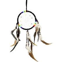 7 Chakras Dreamcatcher (Black, 5.5 inches) - $20.00